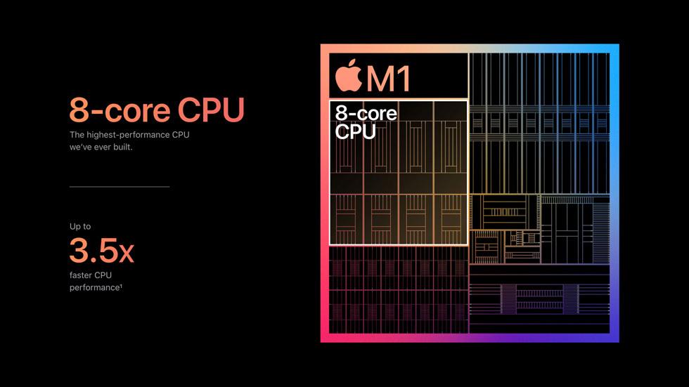 202더 강력하고 더 빠르고 더 오래간다...애플, M1 칩 탑재 맥북 에어/프로 & 맥미니 발표