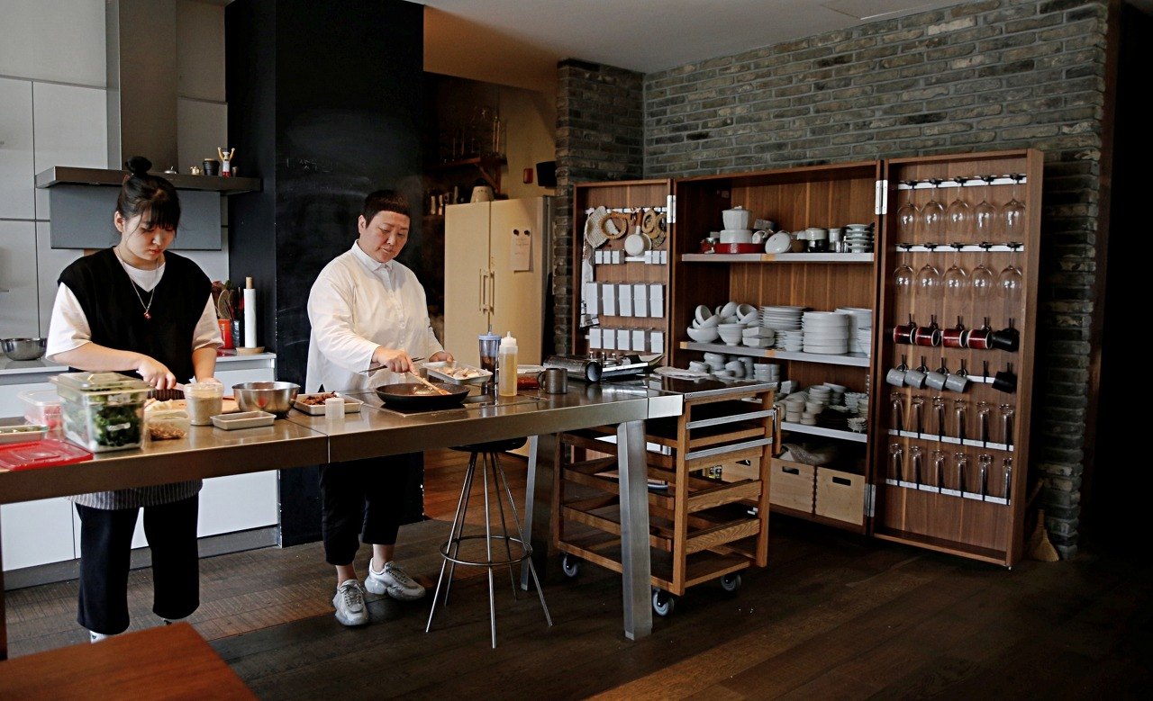 Chef Roh's cooking studio (Pic: Julia Lee)