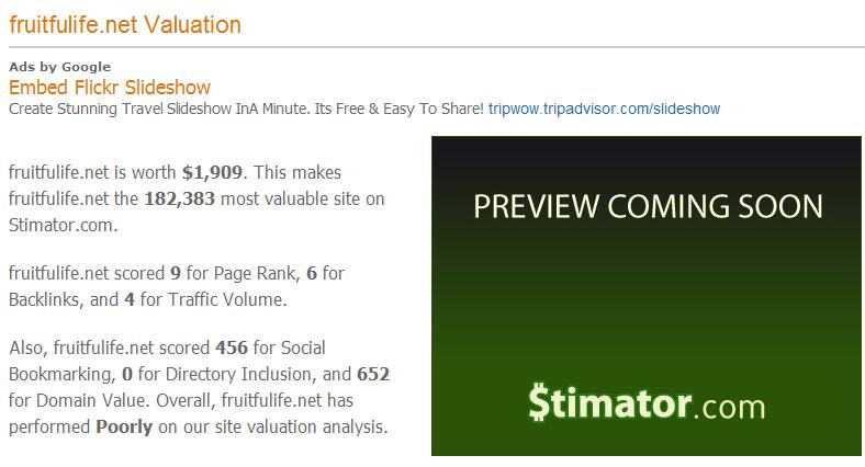 "Stimator/""내 블로그의 가치는 얼마나 될까?""2"
