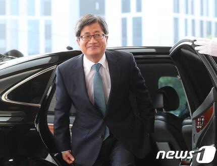 김명수 신임 대법원장. 2017.9.25/뉴스1 © News1 신웅수 기자