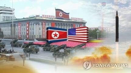 美, 대북 압박 가속화(CG) [연합뉴스TV 제공]
