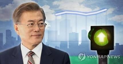 문재인 대통령 지지율 상승 (PG) [제작 조혜인]