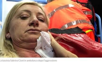 이탈리아 피렌체에서 이탈리아 여성 택시기사가 한국인 남성 승객과 요금 시비 끝에 폭행을 당했다고 현지 언론이 보도했다. [일간 '라 나치오네' 홈페이지 캡처]