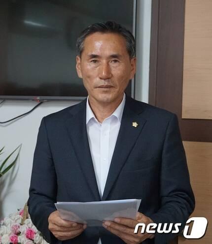 김종관 청양군의원 © News1