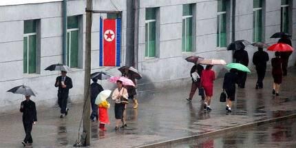 지난달 29일 오전 평양 창광거리 모습. 평양-사진공동취재단