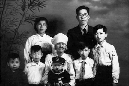 김세걸 씨의 가족사진