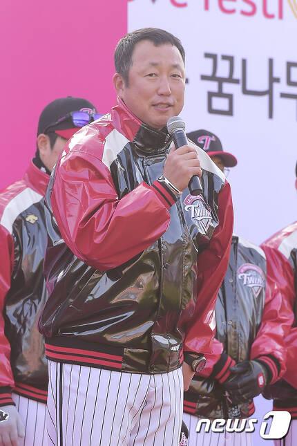 LG 트윈스 차명석 신임 단장. © News1 김진환 기자