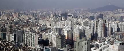 17일 서울 강남구의 아파트 단지들 [뉴스1]