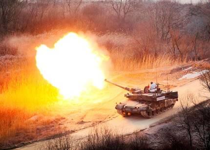 K2 '흑표' 전차. 육군 제공