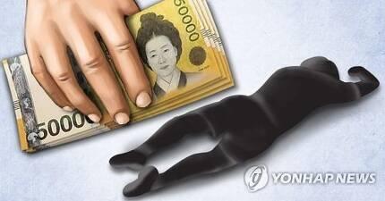 강도ㆍ퍽치기ㆍ부축빼기ㆍ폭행ㆍ살인 현금 갈취(PG) [제작 이태호] 사진합성, 일러스트