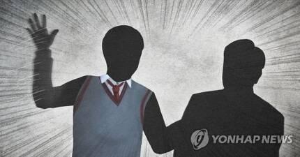 학생, 교사 폭행 (PG) [제작 최자윤] 일러스트