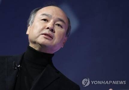 손정의 일본 소프트뱅크 회장 [연합뉴스 자료사진]