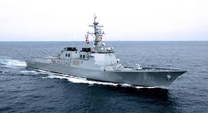 우리 해군의 첫 이지스 구축함인 '세종대왕함' [사진=해군]