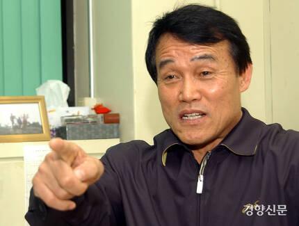 '화성 연쇄살인사건' 당시 수사팀장이었던 하승균씨(73). 우철훈 선임기자 photowoo@kyunghyang.com