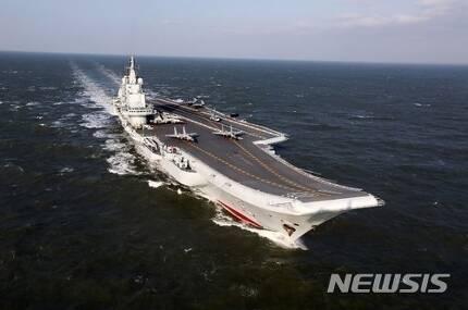 중국 첫 항공모함 랴오닝