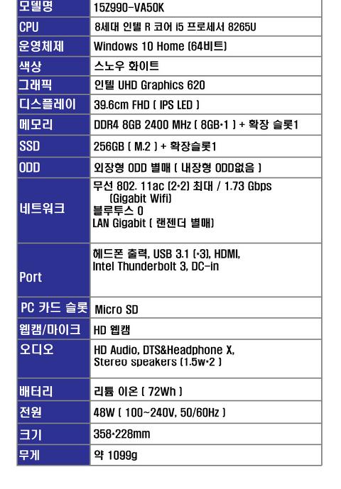 노트북 최종 비교...LG 그램 vs 에이서 스위프트5