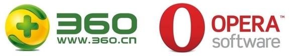 치후360과 오페라 소프트웨어 로고 / 구글 제공
