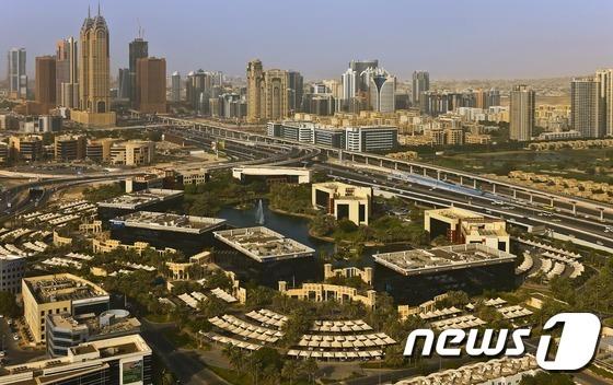 두바이 스마트시티 전경.© News1