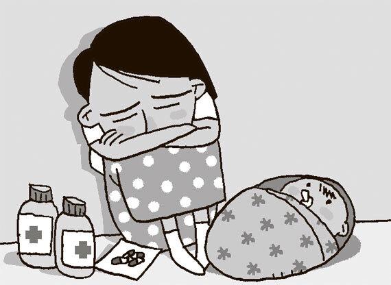 뇌손상 인격장애, 만성 B형 간염 앓던 김유경(41·여·가명)씨, 둘째 출산 후 우울증까지 겹쳐