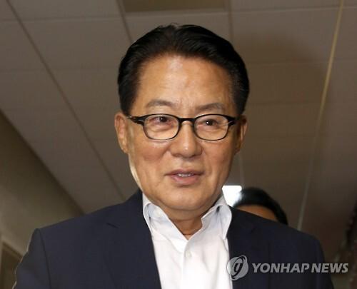 국민의당 박지원 원내대표  [연합뉴스 자료사진