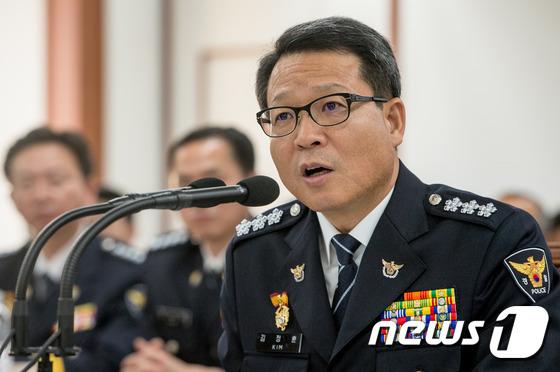 김정훈 서울지방경찰청장. /뉴스1 © News1 유승관 기자