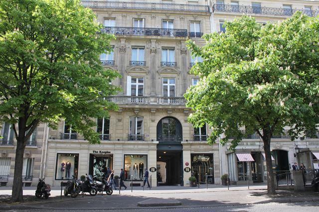 유병언 전 회장이 프랑스 파리에 두었던 '아해 프레스 프랑스'(Ahae Press France) 사무실이 있던 건물 모습. 한국일보 자료사진