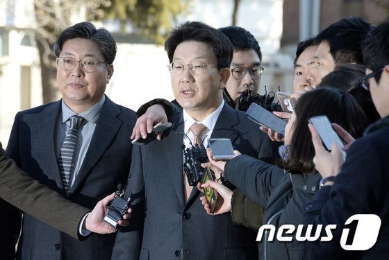 국회 소추위원 권성동 의원. /뉴스1 © News1 안은나 기자