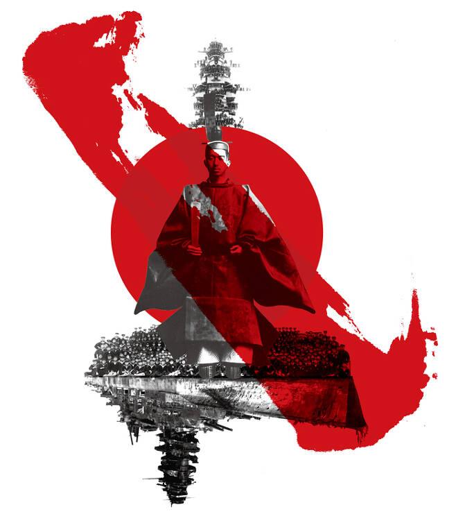 히로히토를 신(神)이라 믿었던 말단 병사의 각성. 1944년 전함 무사시가 침몰할 때 가까스로 살아남은 패잔병은 이제 일왕에게 전쟁 책임의 직격탄을 날린다. /글항아리