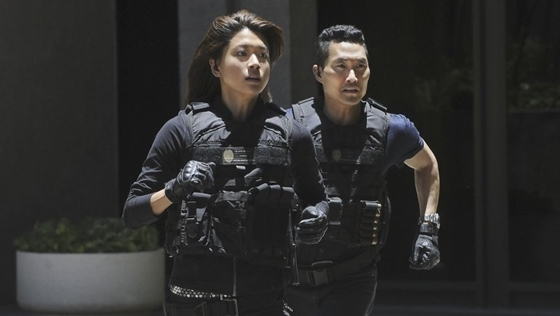 '하와이 파이브-오'의 그레이스 박(사진 왼쪽)과 대니얼 대 킴 / 사진출처=CBS
