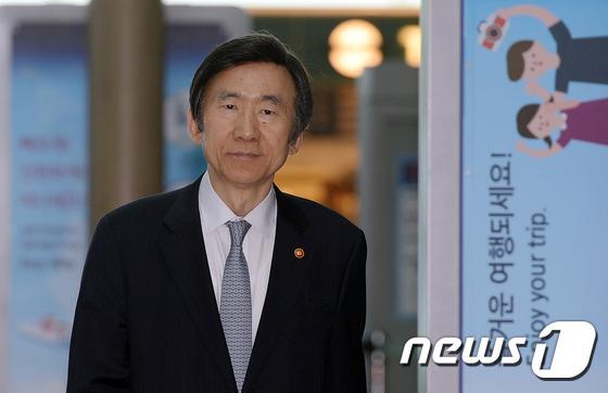 윤병세 외교부 장관. 뉴스1 © News1 김명섭 기자
