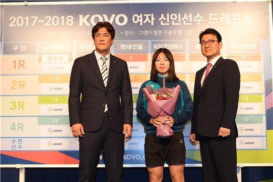 GS칼텍스 한수진 / 사진= 한국배구연맹 제공