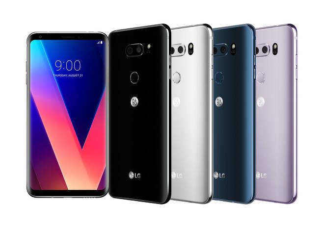 LG전자의 하반기 프리미엄 스마트폰 'LG V30' © News1