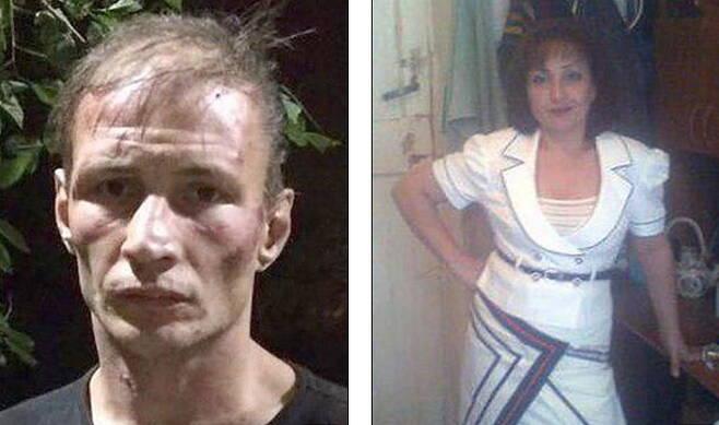 약 20년 동안 30명을 살해하고 인육을 먹은 혐의로 체포된 러시아 부부.