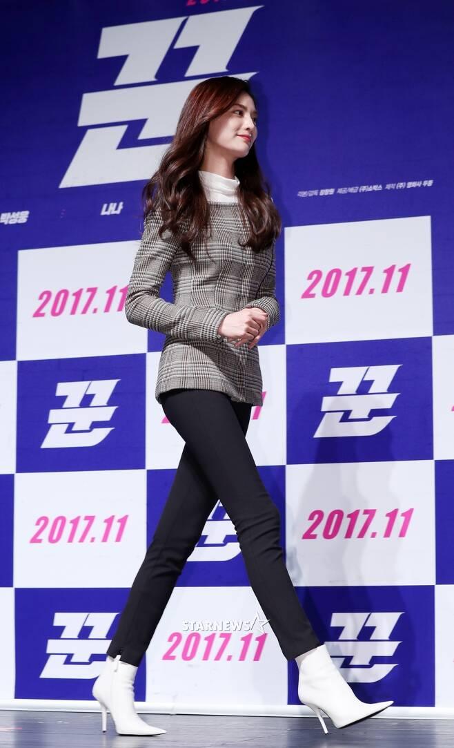 [★포토]나나, '비현실적 다리길이'