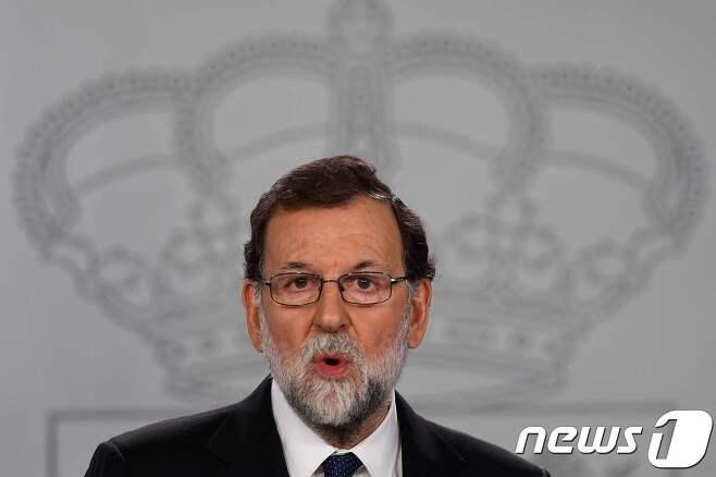 마리아노 라호이 스페인 총리. © AFP=뉴스1