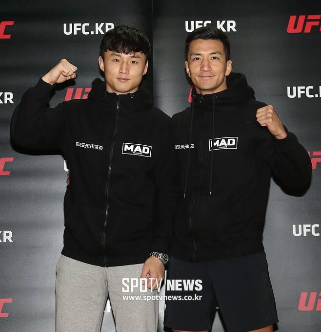 ▲ 최두호와 강경호가 오는 15일 UFC 파이트 나이트 124의 마지막 경기와 첫 경기에 나선다. ⓒ곽혜미 기자