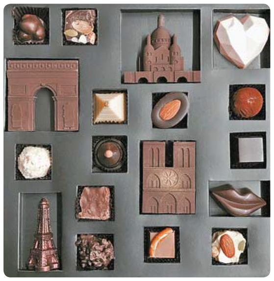 수제초콜릿 전문점 뚜두는 올해 사랑의 도시 '파리'를 모티프로 만든 초콜릿 패키지를 내놨다.