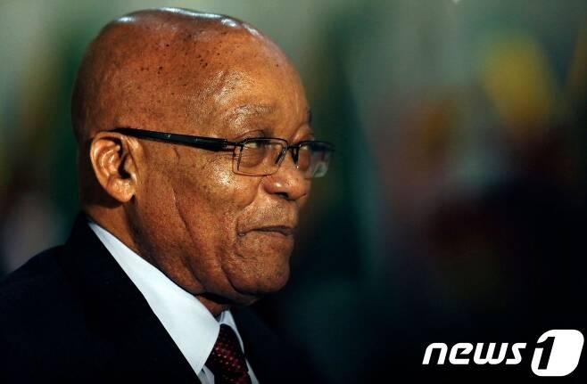 제이콥 주마 남아공 대통령. © AFP=뉴스1