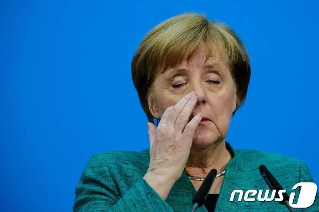 앙겔라 메르켈 독일 총리 © AFP=뉴스1