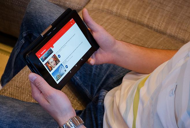 유튜브는 엔터테인먼트는 물론, 유아 교육용 동영상을 보는 데도 유용하다