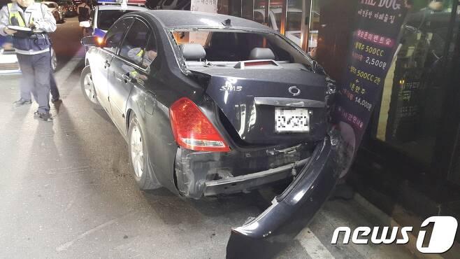 사고 현장(대전지방경찰청 제공)© News1