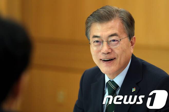 문재인 대통령. (청와대)2017.6.22/뉴스1