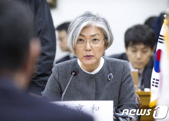 강경화 외교장관/뉴스1 © News1 송원영 기자