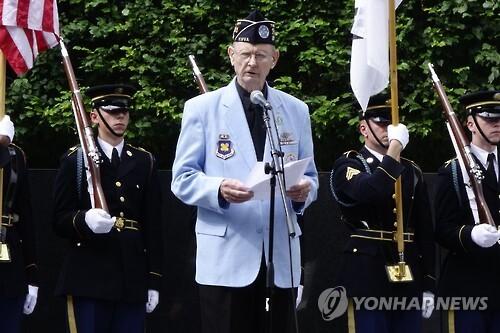 토머스 스티븐스 한국전참전용사협회장