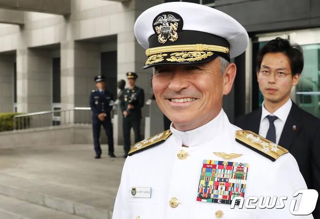 태평양사령관을 지낸 해리 해리스 주한 미국 대사 지명자.  (뉴스1 DB)2018.4.25/뉴스1