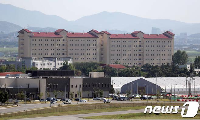 경기도 평택시 미8군사령부 캠프험프리스. © News1 이재명 기자
