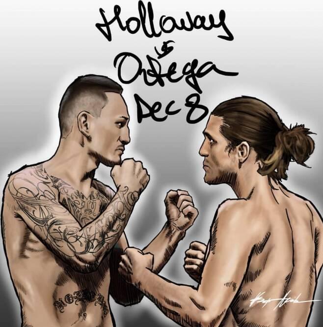 ▲ 맥스 할로웨이와 브라이언 오르테가는 오는 12월 9일 UFC 231에서 맞대결한다.