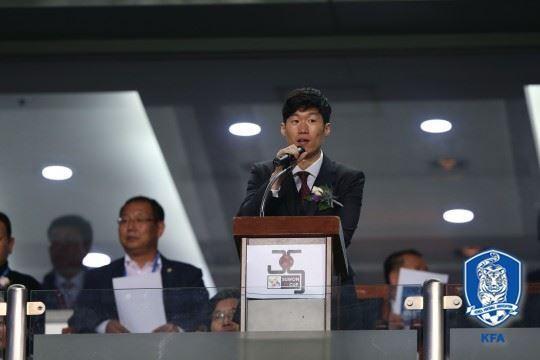 박지성이 대한축구협회 유스전략본부장직에서 물러난다. 대한축구협회 제공