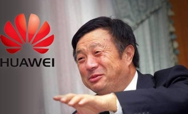 런정페이 화웨이 창업자 겸 CEO- 회사 홈피 갈무리