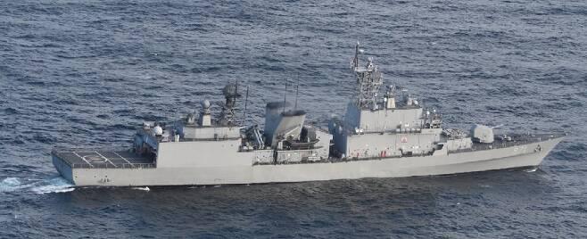 한국 해군 광개토대왕함